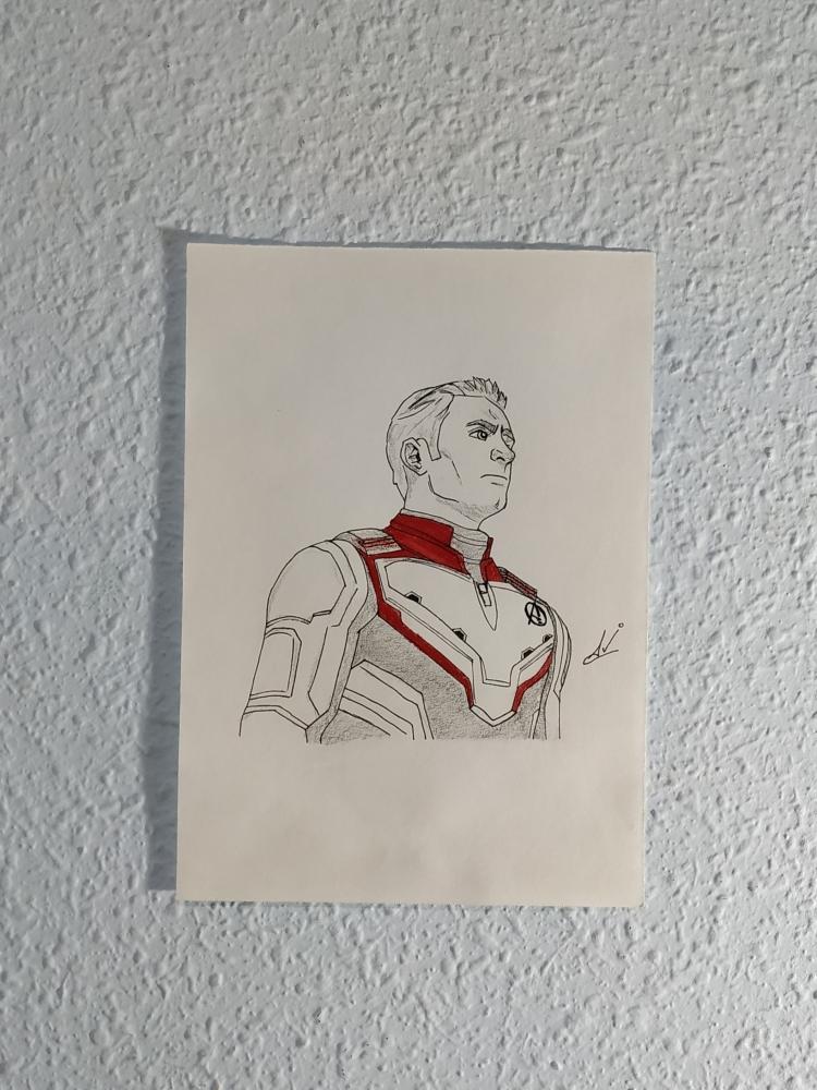 Captain America by Nereaaj